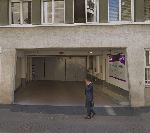Parking Immeuble RUE DE L'UNIVERSITE (Couvert) - Parking public - Paris